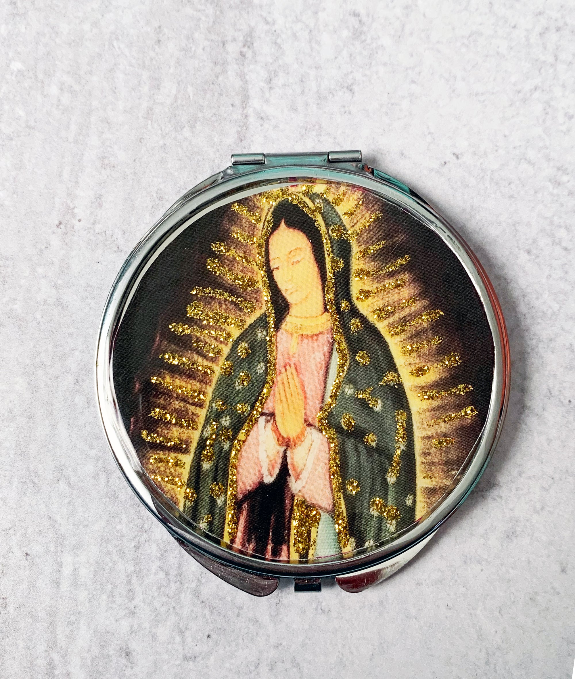 Guadalupe Compact Mirror