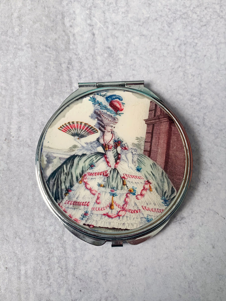 Marie Antoinette Compact Mirror