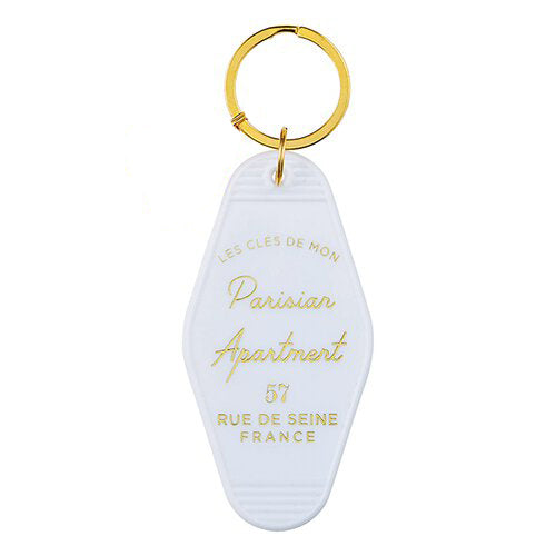 Parisian Apartment Motel Keychain