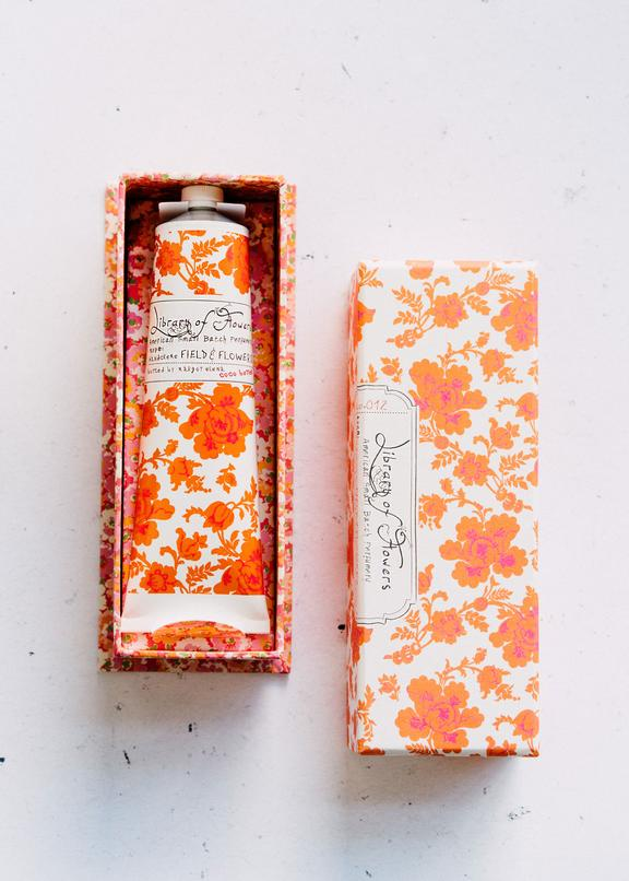 Library of Flowers Field & Flowers Hand Cream