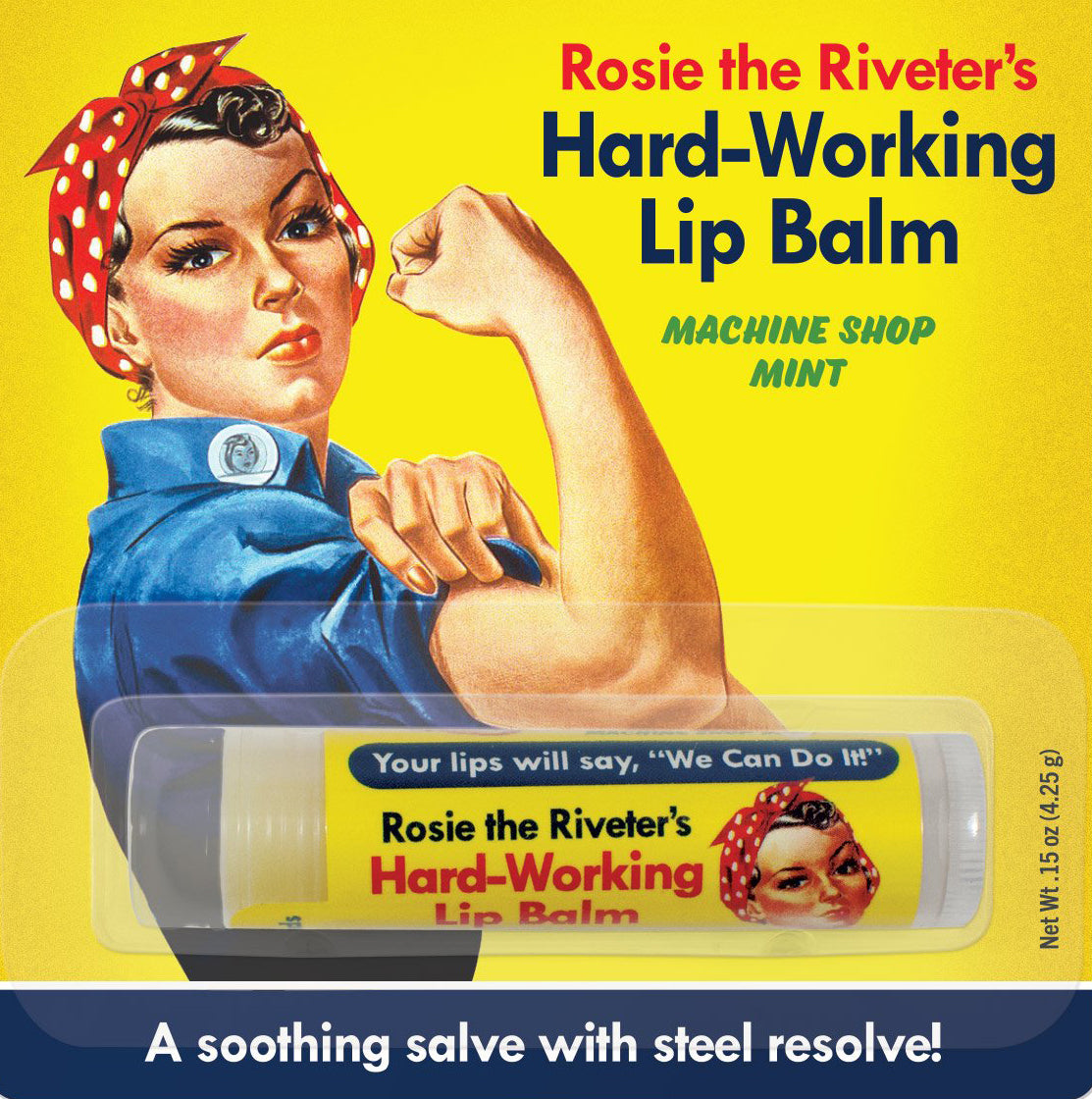 Rosie the Riveter Hard-Working Lip Balm