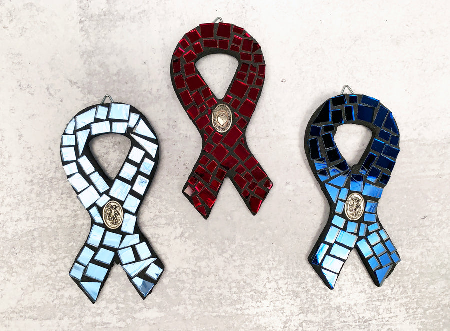 Mosaic Awareness Ribbon