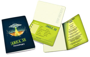 Area 51 Passport Journal