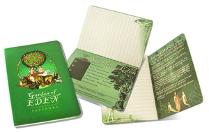 Garden of Eden Passport Journal