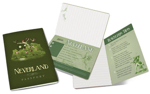 Neverland Passport Journal