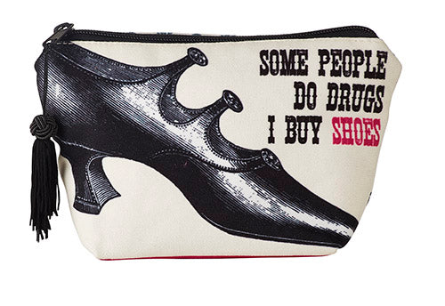 Victorian Women's Shoe Zipper Pouch