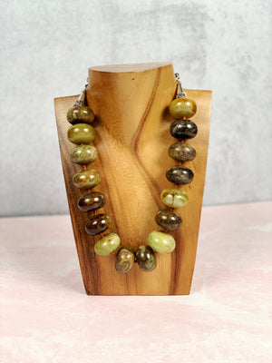 Earthy Delight Agate Necklace