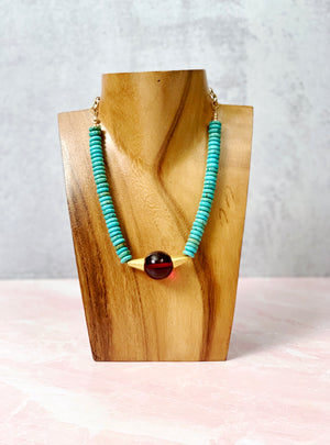 True Expression Turquoise Necklace