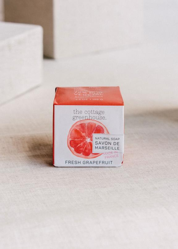 The Cottage Greenhouse Fresh Grapefruit French Soap