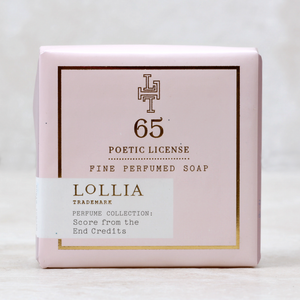 Lollia Poetic License Soap 65 Score From the End Credits