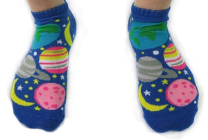 Solar System Planet Ankle Socks