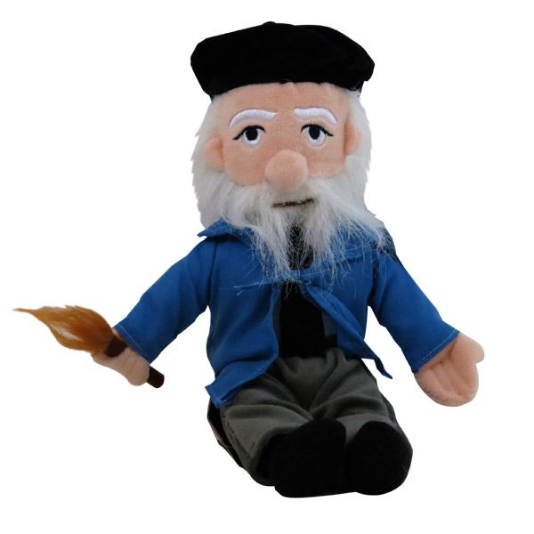 Claude Monet Plush Doll