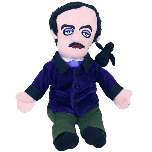 Edgar Allan Poe Plush Doll