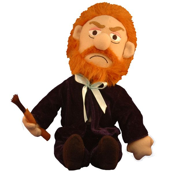 Vincent Van Gogh Plush Doll