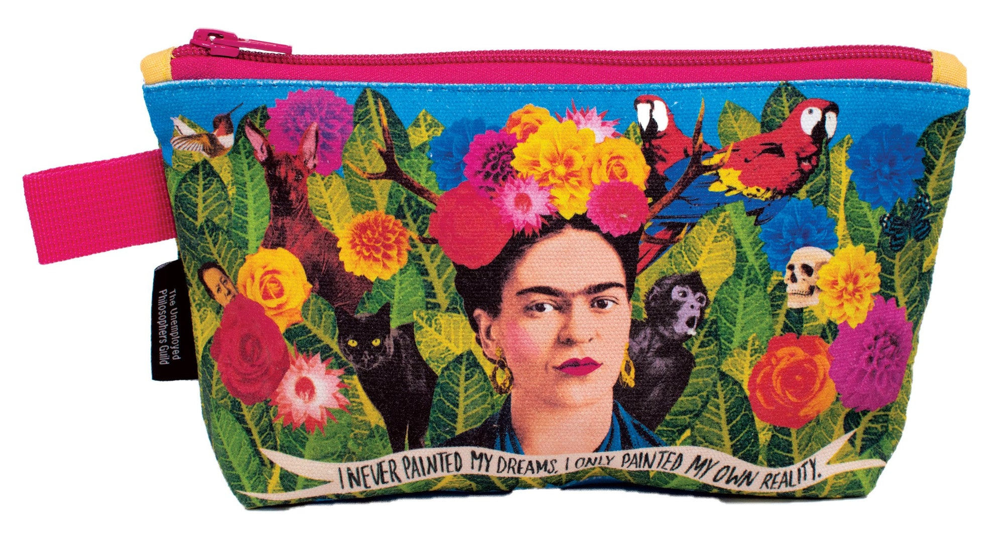 Frida Kahlo Zipper Pouch