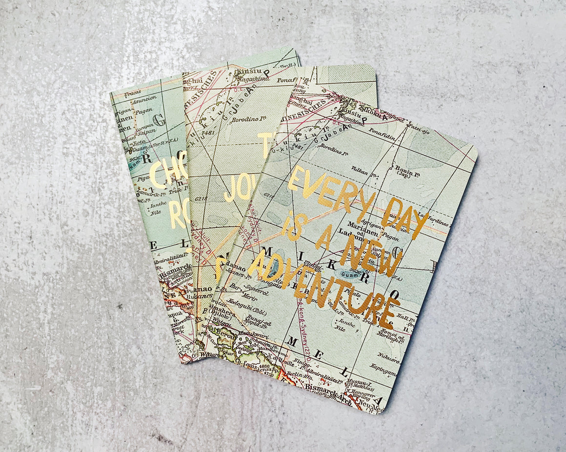 World Travel Map Inspirational Journal
