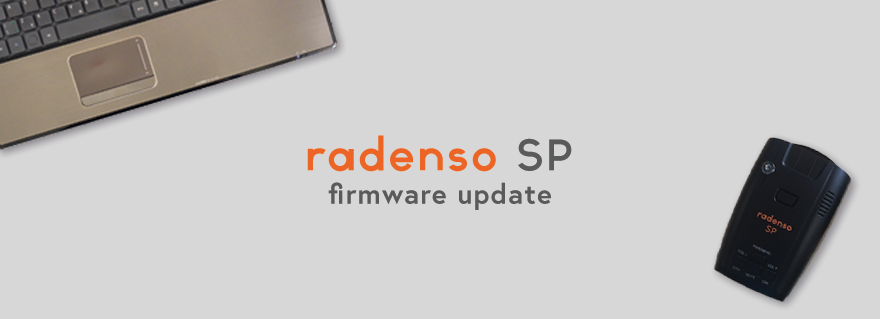 Radenso SP Firmware Update