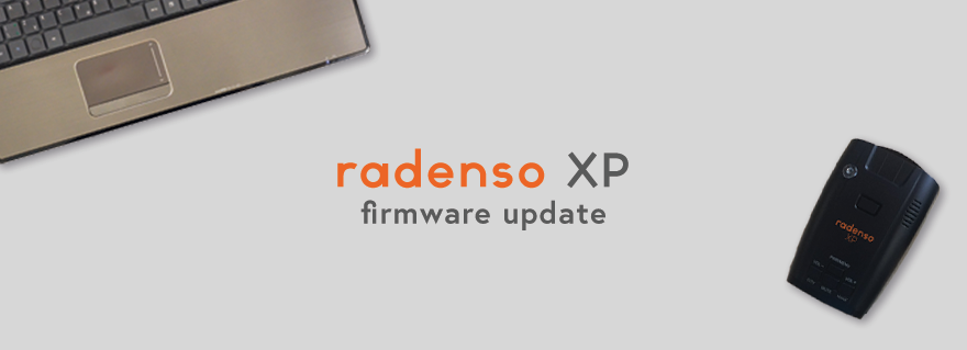 Radenso XP Firmware Update