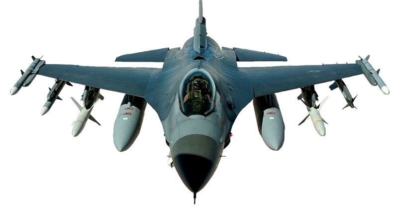 F16 Aircraft, AI Defense Software technology