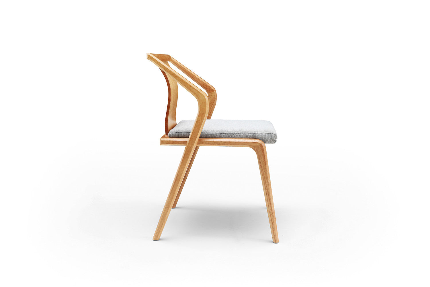 Chaise en bois design aava chaise en bois by arper design Chaise bois gris