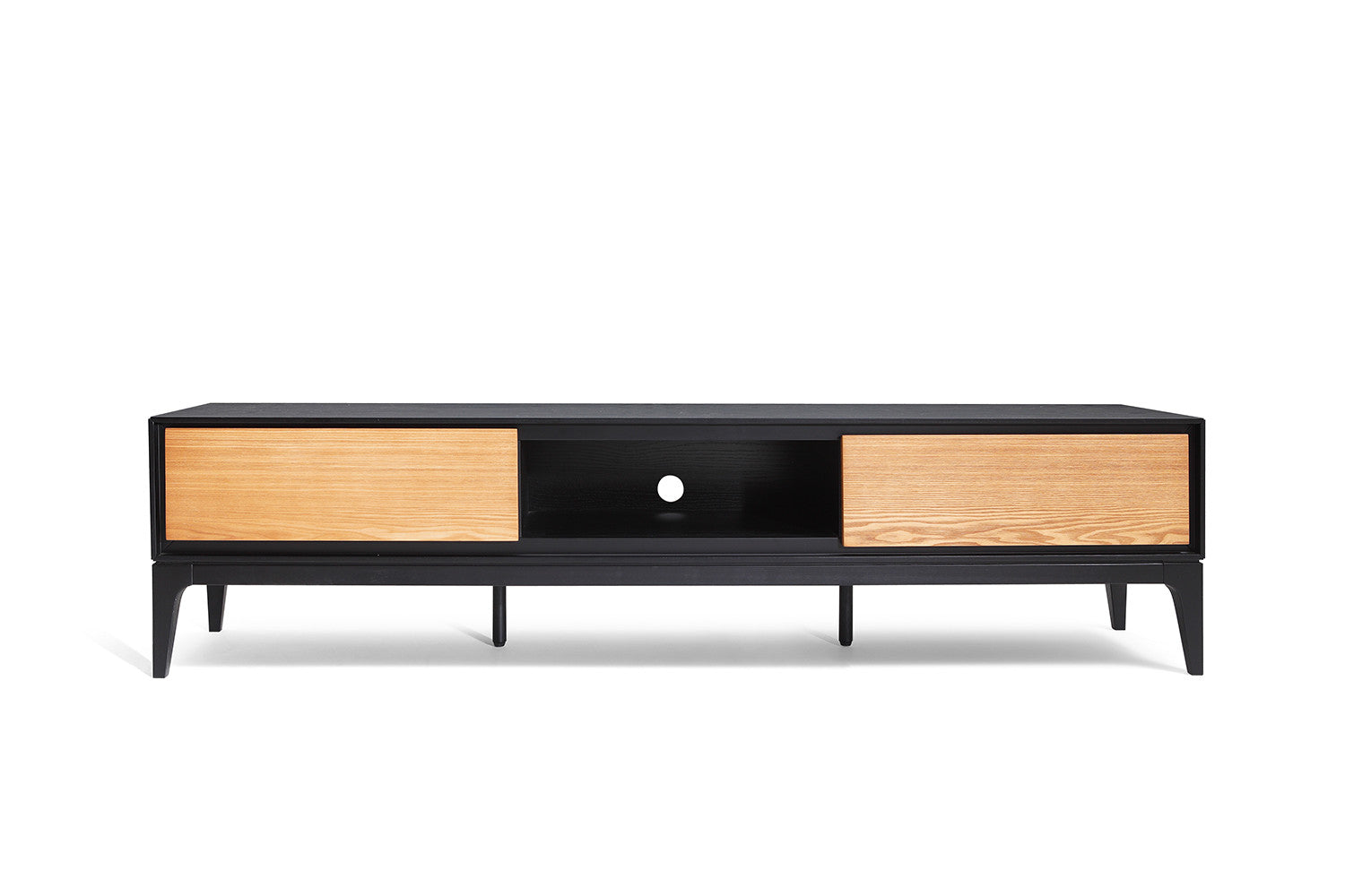 Meuble Tv Scandinave Design : Meuble Tv Design Scandinave Meuble-tv-design-bois-noir
