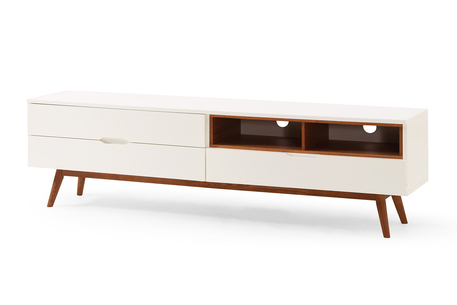 Meuble tv design scandinave lema dewarens for Meubles bois flotte design