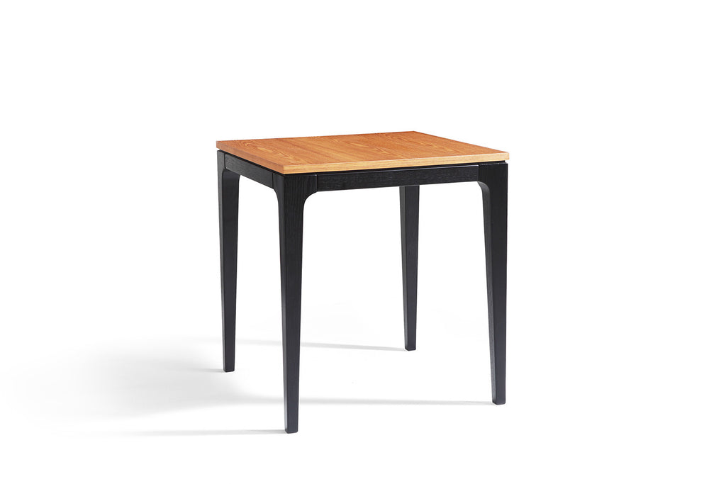 table d 39 appoint design noire en bois davos dewarens. Black Bedroom Furniture Sets. Home Design Ideas