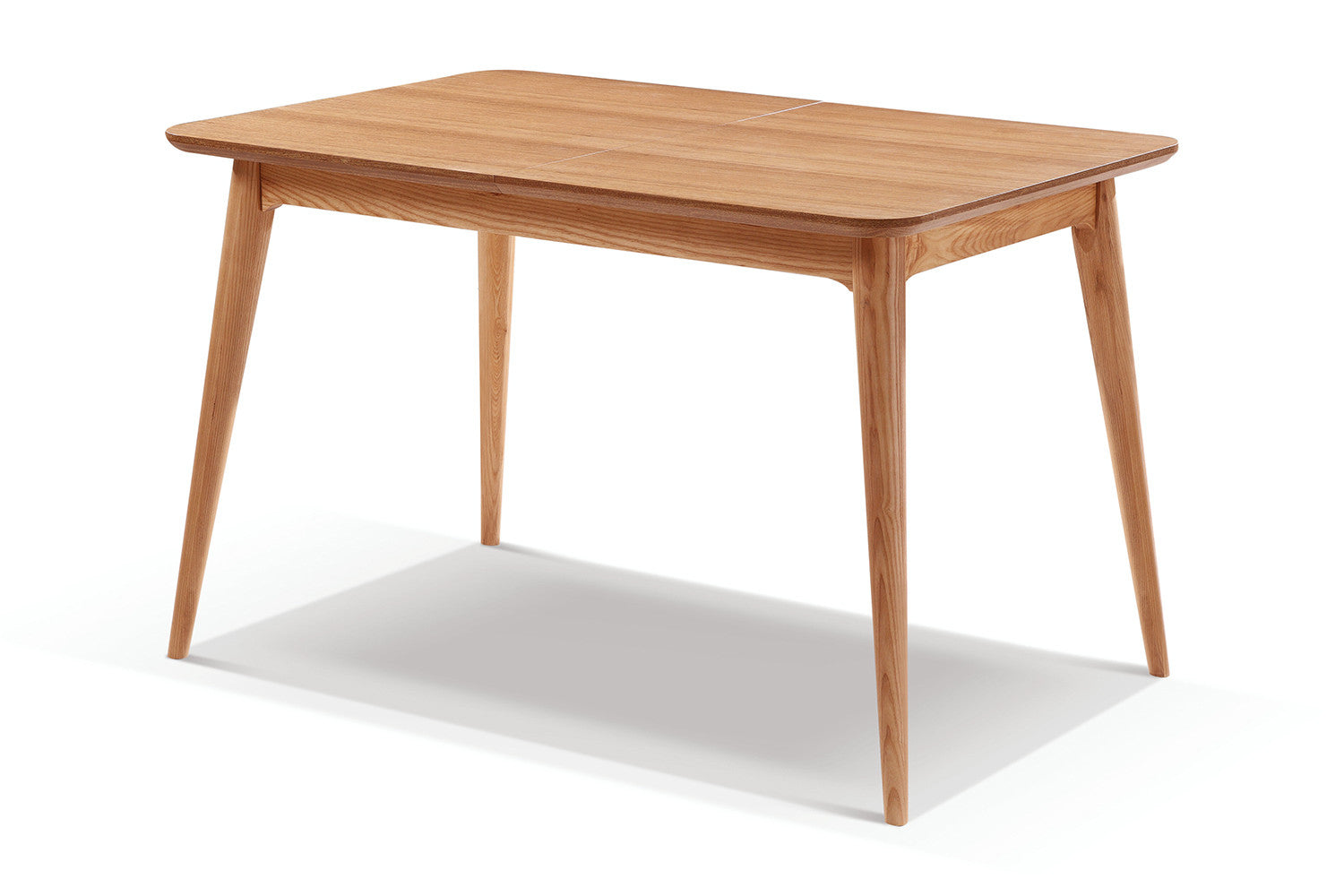 Table de salle manger extensible en bois adda dewarens for Table extensible bois metal