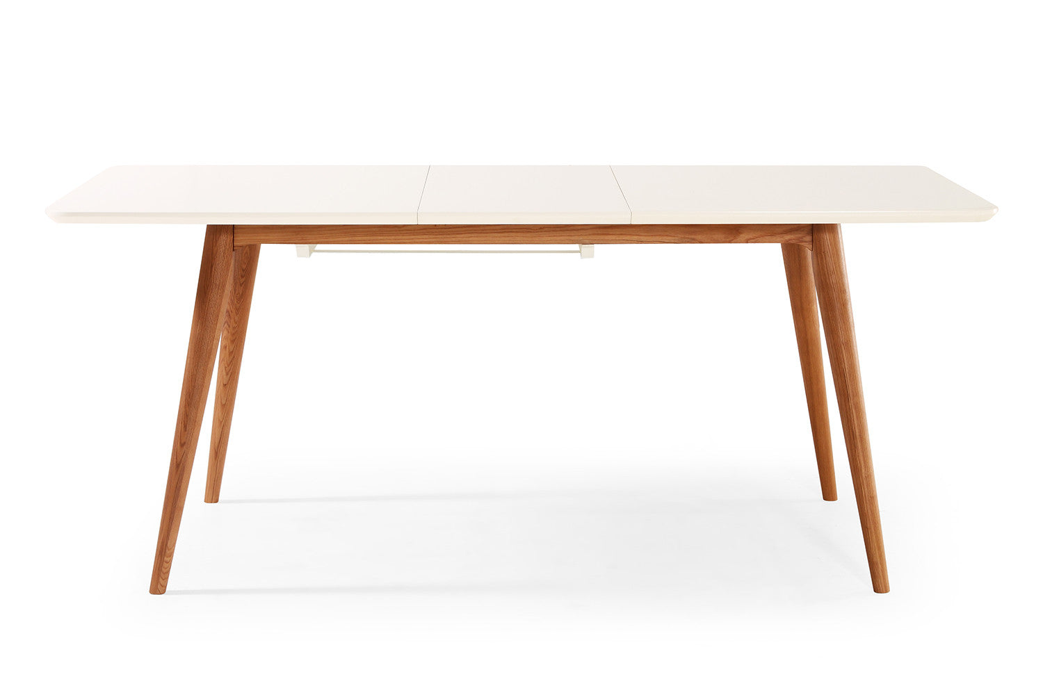 Table de salle manger extensible scandinave wyna dewarens - Table rectangulaire a rallonge ...