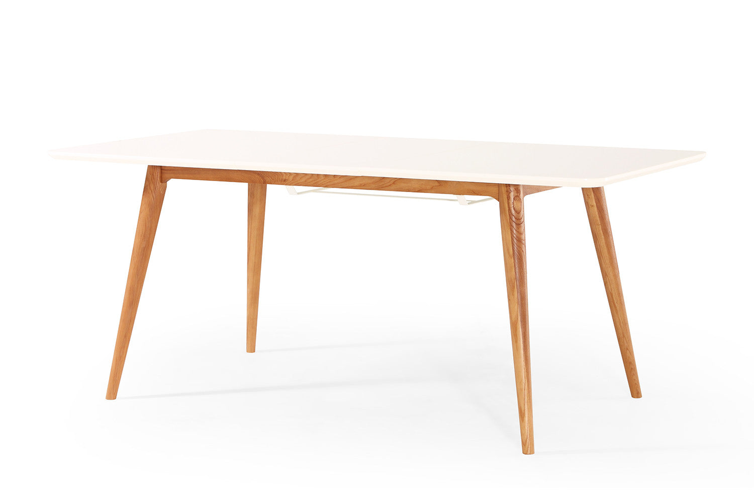 Table salle a manger scandinave extensible for Table manger extensible