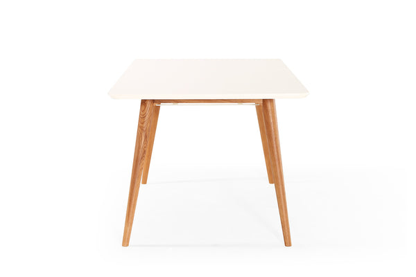 table de salle manger extensible scandinave wyna dewarens. Black Bedroom Furniture Sets. Home Design Ideas