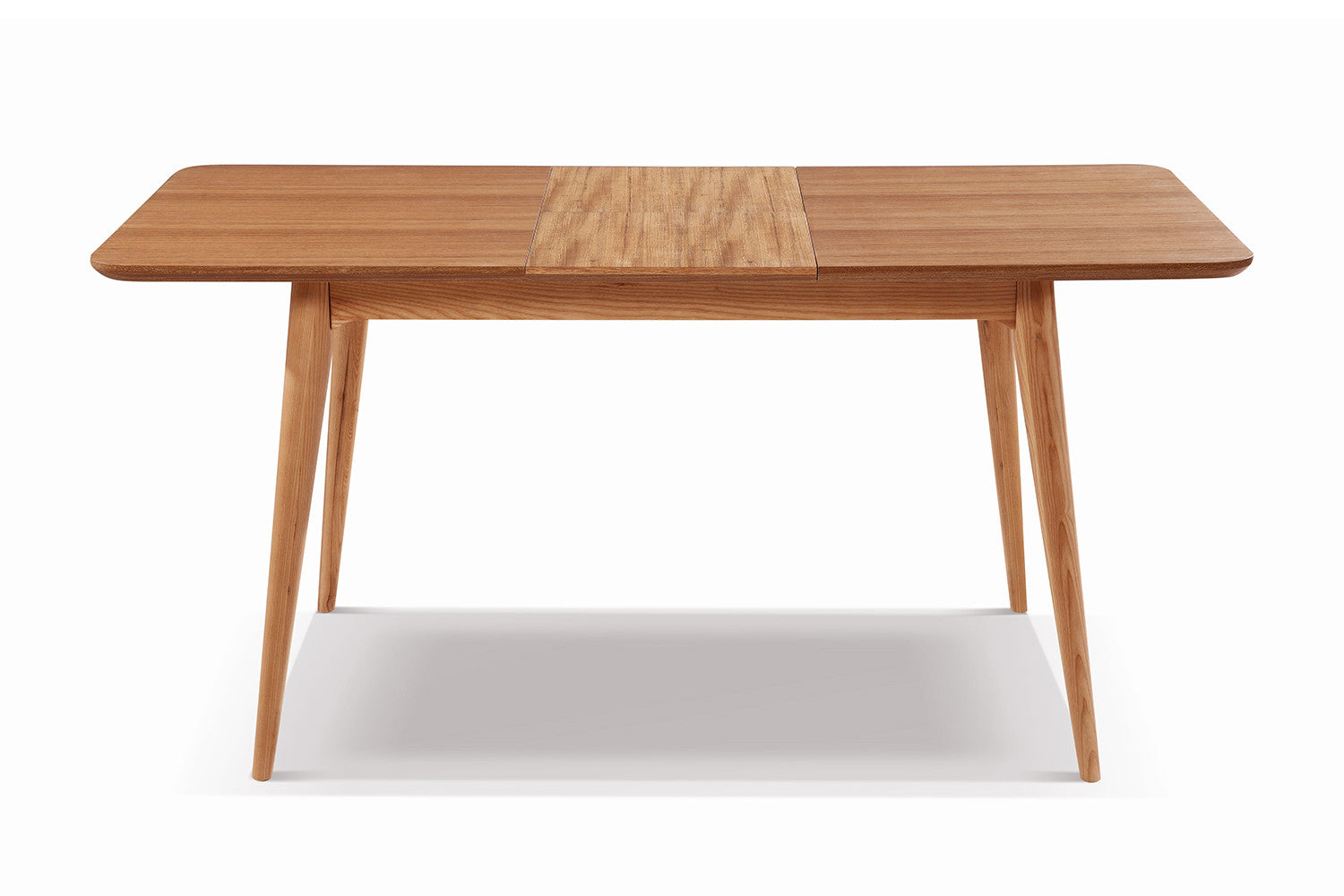 Table de salle manger extensible en bois adda dewarens for Table de salle a manger retractable