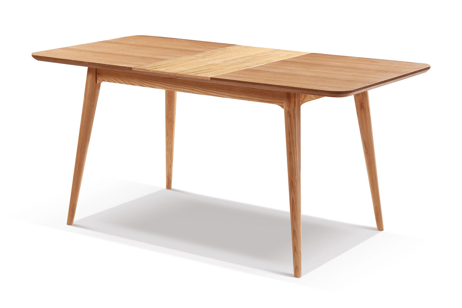 Table de salle manger extensible en bois adda dewarens for Table design a rallonge