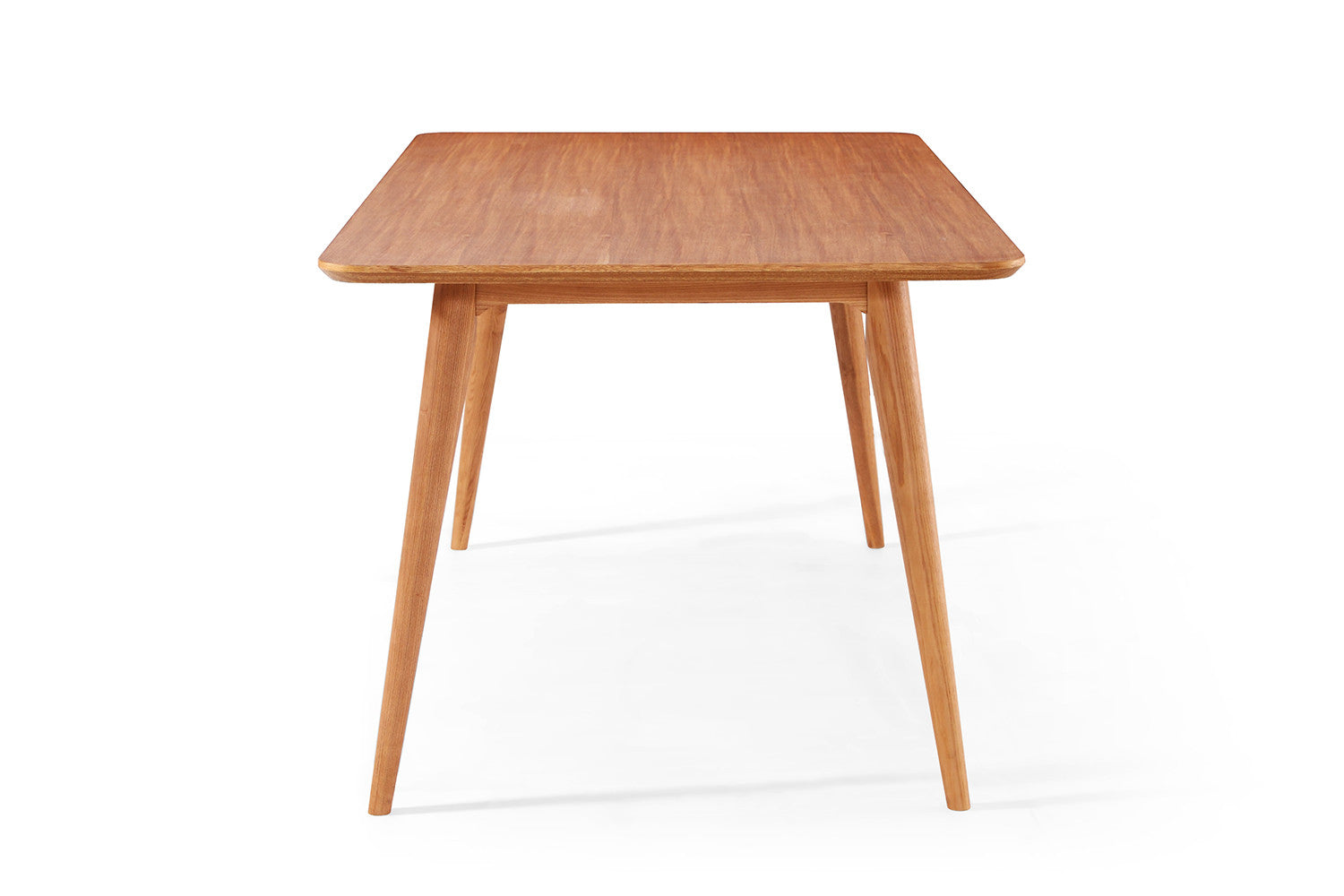 Table de salle manger design en bois julia dewarens for Table salle a manger escamotable