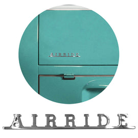 Airride Script Emblem Badge For Vw Bus Type 2 Bug Beetle - Classic Parts Depot
