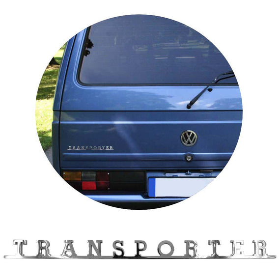 Vw Transporter Script Emblem Badge For T1 T2 T3 T4 T5 - Classic Parts Depot