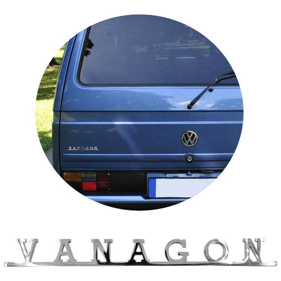 Vw Vanagon Script Emblem Badge For Vw T3 Bus Type 25 - Classic Parts Depot