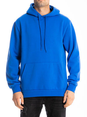 The Premium Pullover Hoodie in Strong Blue