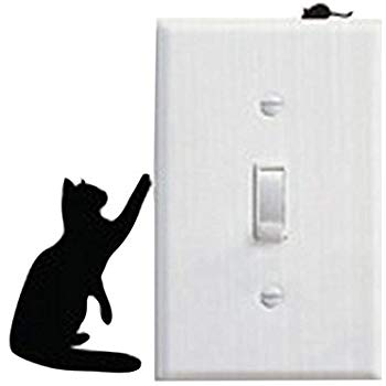 Decal Cat & Mouse