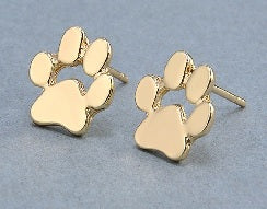 Earrings - paw earrings