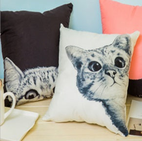 Cushion Covers Cotton/Polyester