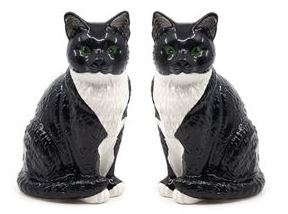 Salt and Pepper Cat Shakers by Salt & Pepper