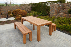 Bario bench + bario table 240 (3 PC SET)