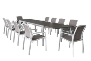 SERNIA 11PC Extension Dining Set