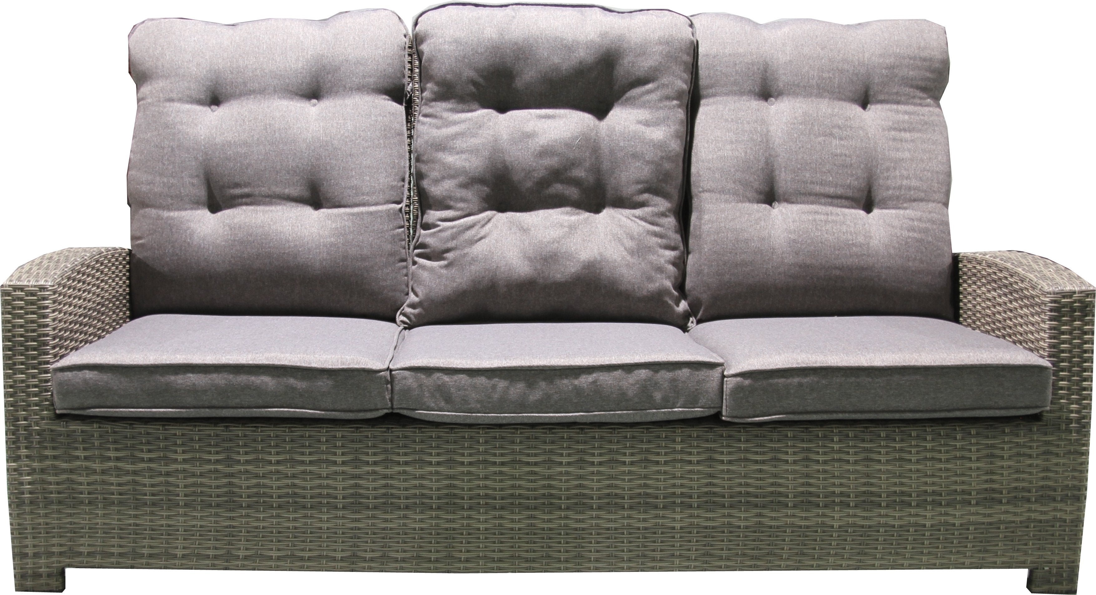 AGN 3 Seat Sofa with Ottomans