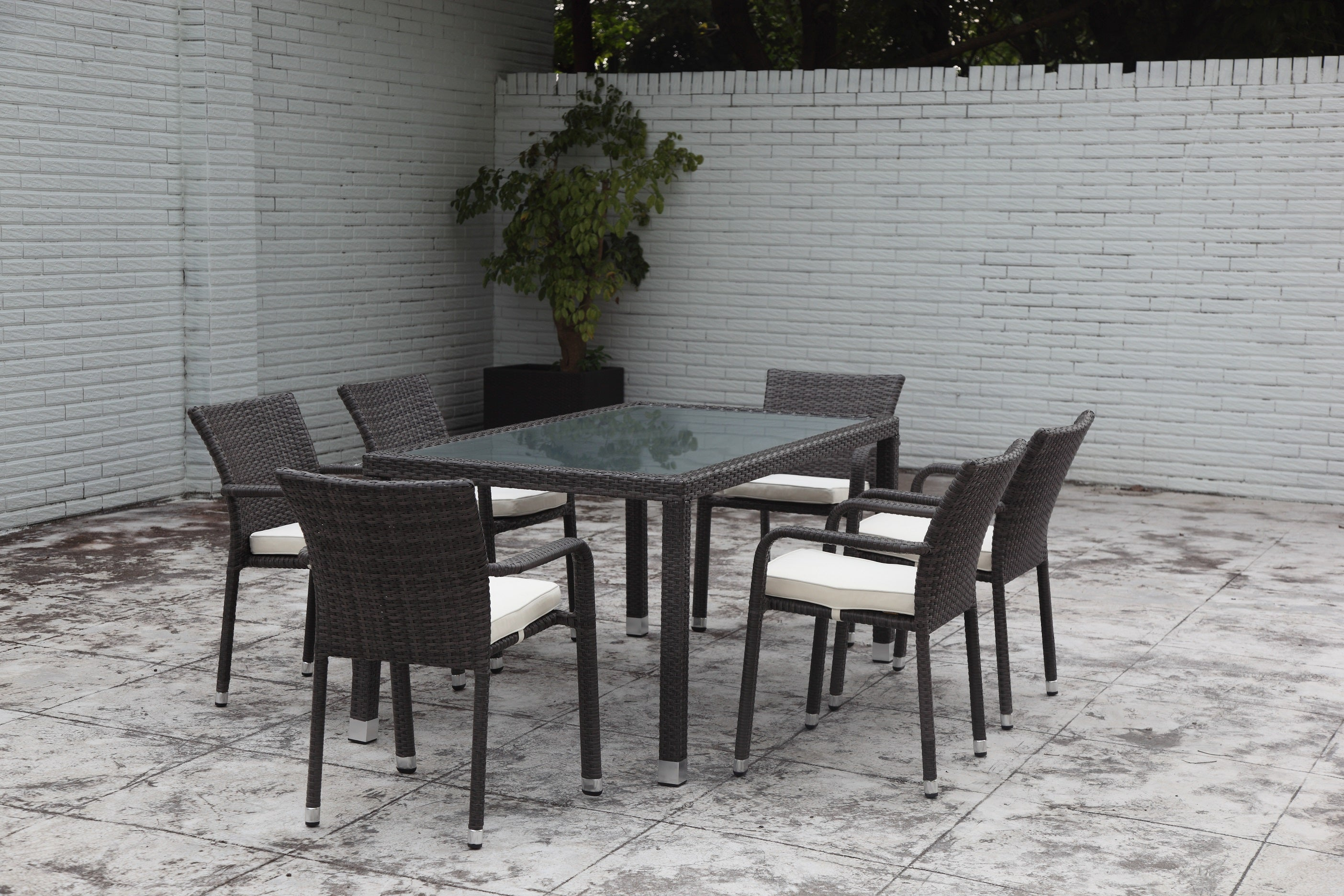 COLA 7pcs Dining Set