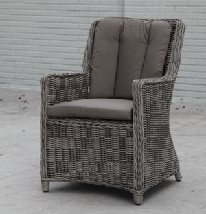 MENANGLE Round Rattan Dining Chair