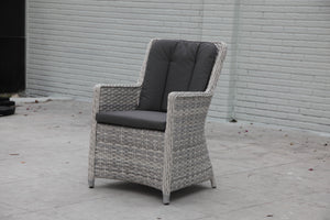 MENANGLE Flat Rattan Dining Chair