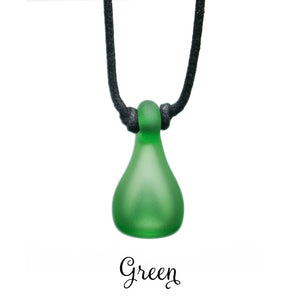 Aromatherapy Jewelry, Color Frosted - Green