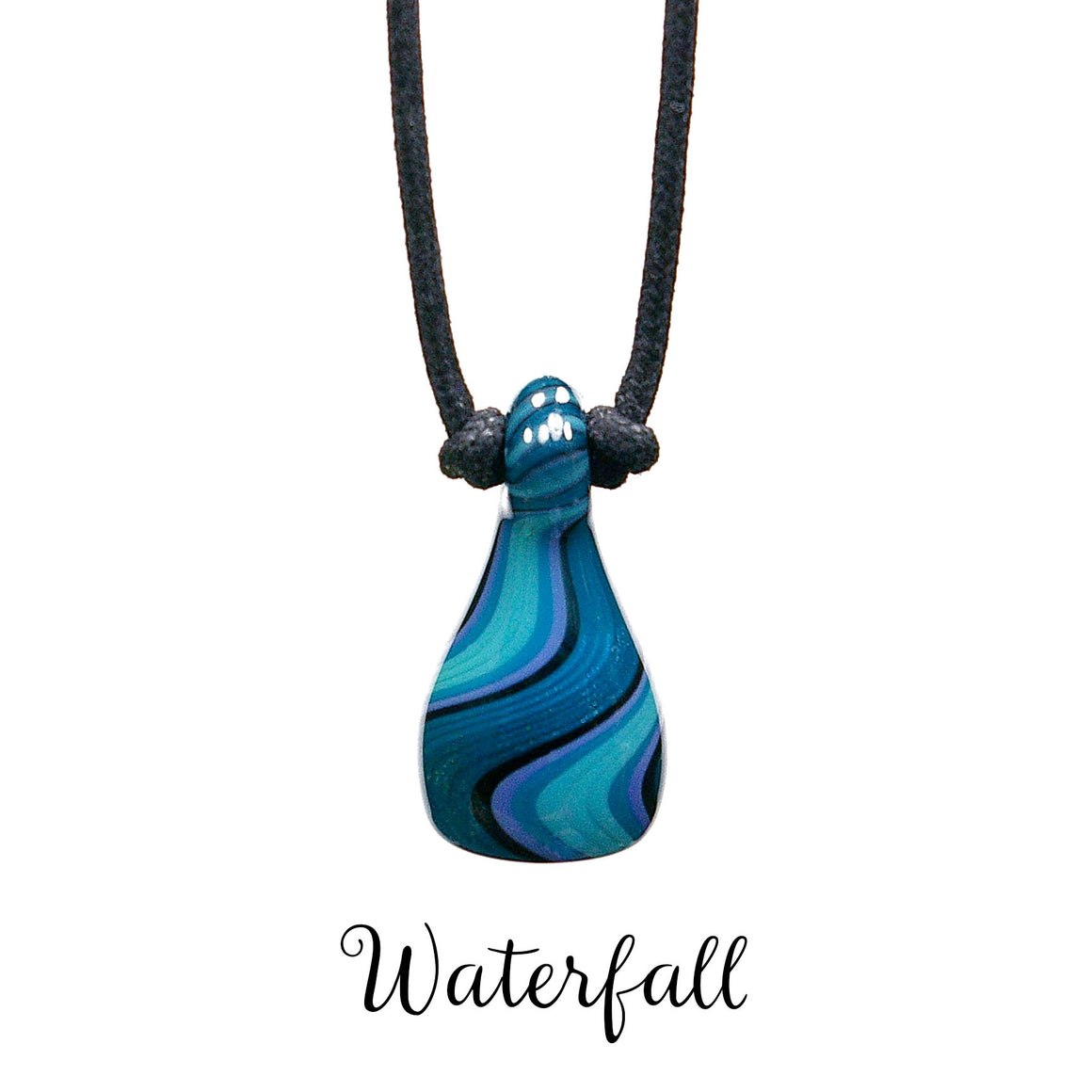 Aromatherapy Jewelry, Stripe - Waterfall
